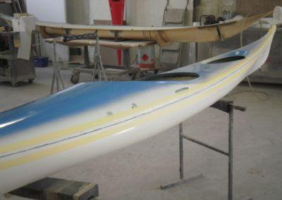 Kayak assemblé